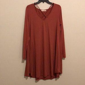 fall swing dress